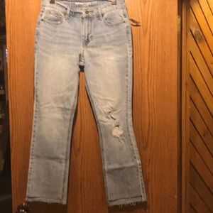 Light wash flare jeans NWT